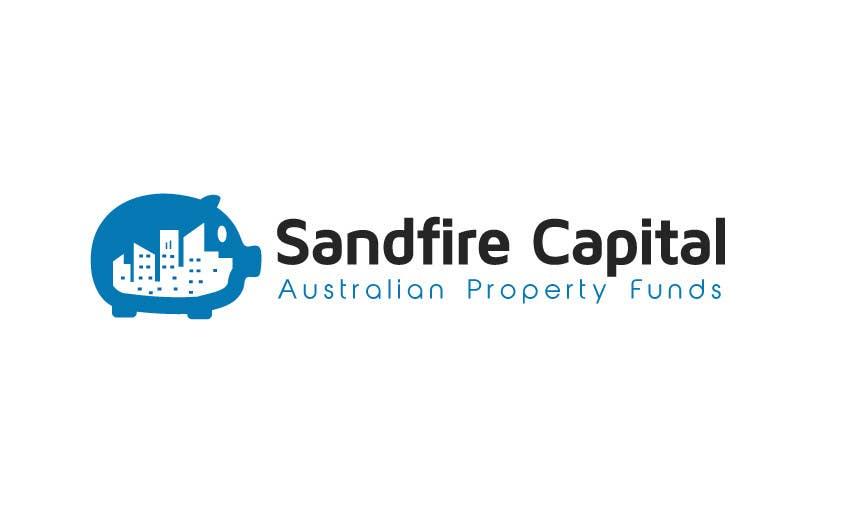 Kilpailutyö #                                        23                                      kilpailussa                                         Logo Design for Sandfire Capital - Australian Property Funds
