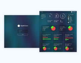 nº 16 pour Design a one page dashboard (non-interactive) with Spotify charts par darkevangel