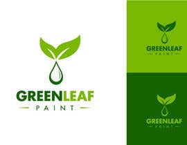 #132 para Logo Design for Green Leaf Paint por BrandCreativ3