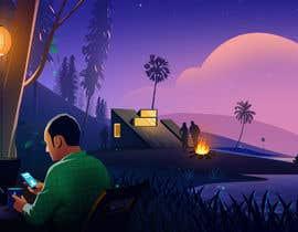 Nro 33 kilpailuun Need a Background illustration käyttäjältä kesabk