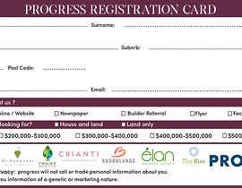#26 для Design a Registration Card от khaledalmanse