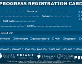 #32 для Design a Registration Card от shoaib786mughal
