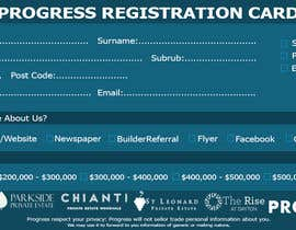 #35 для Design a Registration Card от shoaib786mughal