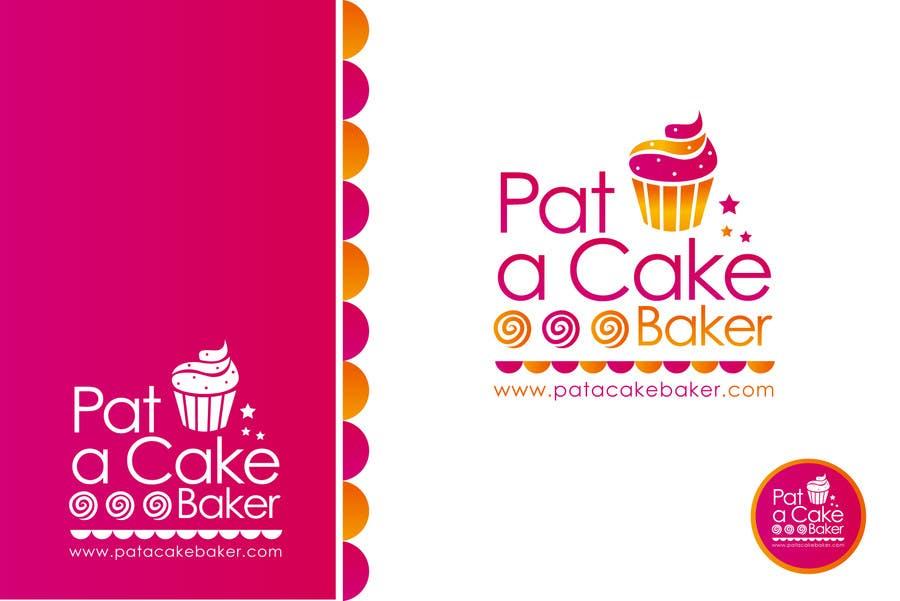 Konkurrenceindlæg #                                        21                                      for                                         Logo Design for Pat a Cake Baker