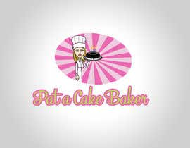 #10 para Logo Design for Pat a Cake Baker por logodancer
