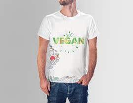 #86 untuk Vegan T-shirt Designs oleh offbeatAkash