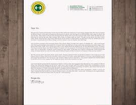 #10 for design my company letterhead. af rashedul070