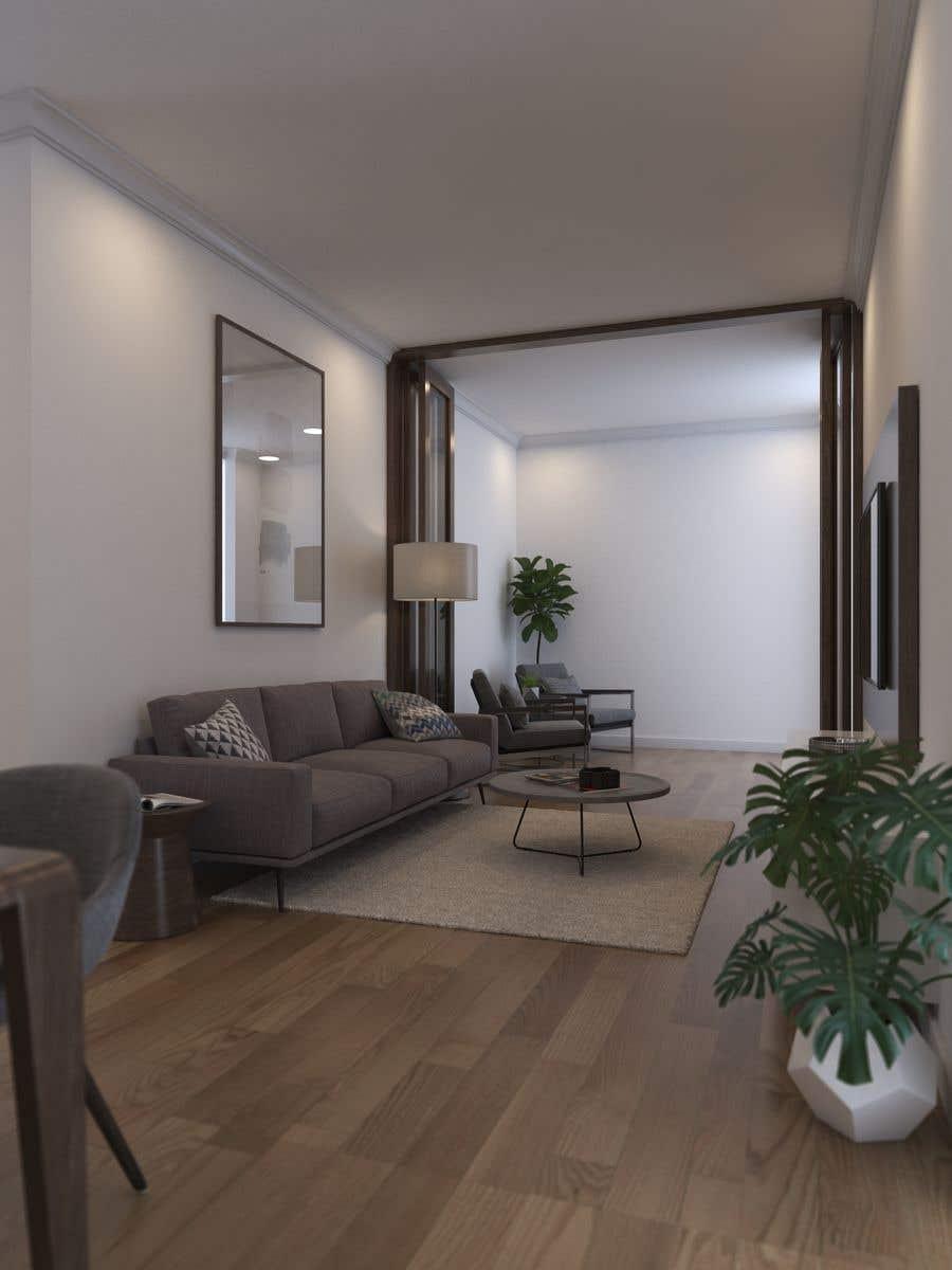 Konkurrenceindlæg #5 for 3d of a duplex house