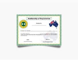 nº 6 pour Design a membership certificate par Tajammal007