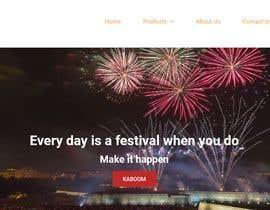 Nro 5 kilpailuun Design a Website for Online Firework sales käyttäjältä akhladjmi