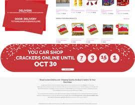 Nro 9 kilpailuun Design a Website for Online Firework sales käyttäjältä fotoexpert