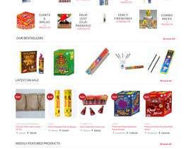 Nro 12 kilpailuun Design a Website for Online Firework sales käyttäjältä fotoexpert