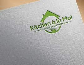 #48 untuk Logo for Vietnamese Kitchen oleh Graphicbd35