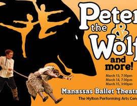 #32 para Design a Flyer for a Ballet show postcard mailer por creativeoncall