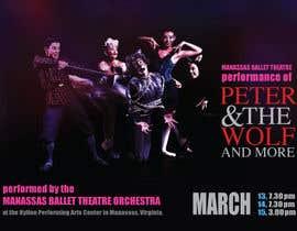 #35 para Design a Flyer for a Ballet show postcard mailer por Anudissa