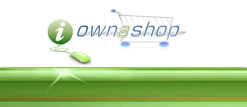 Конкурсная заявка №170 для Logo Design for iownashop (I own a shop) iownashop.com