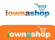 Graphic Design Конкурсная работа №183 для Logo Design for iownashop (I own a shop) iownashop.com