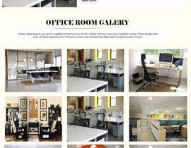 #14 for Design a homepage for office room rental website af hadayethm1999