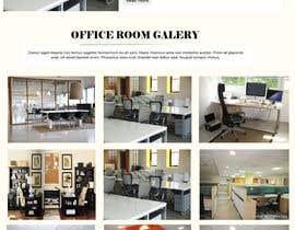 #14 para Design a homepage for office room rental website de hadayethm1999