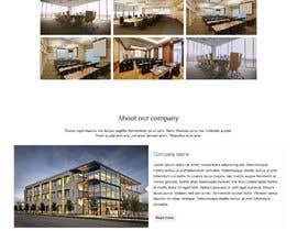 #13 for Design a homepage for office room rental website af ibnul744