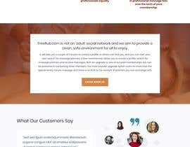 Nro 58 kilpailuun Design a Website Mockup käyttäjältä u2smile85