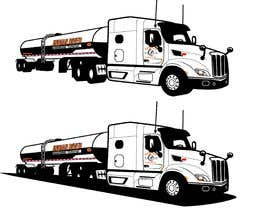 #20 para Vectorize & create an outline of a truck image de briangeneral