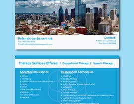 #44 para Design a half page speech therapy flyer de shsanto