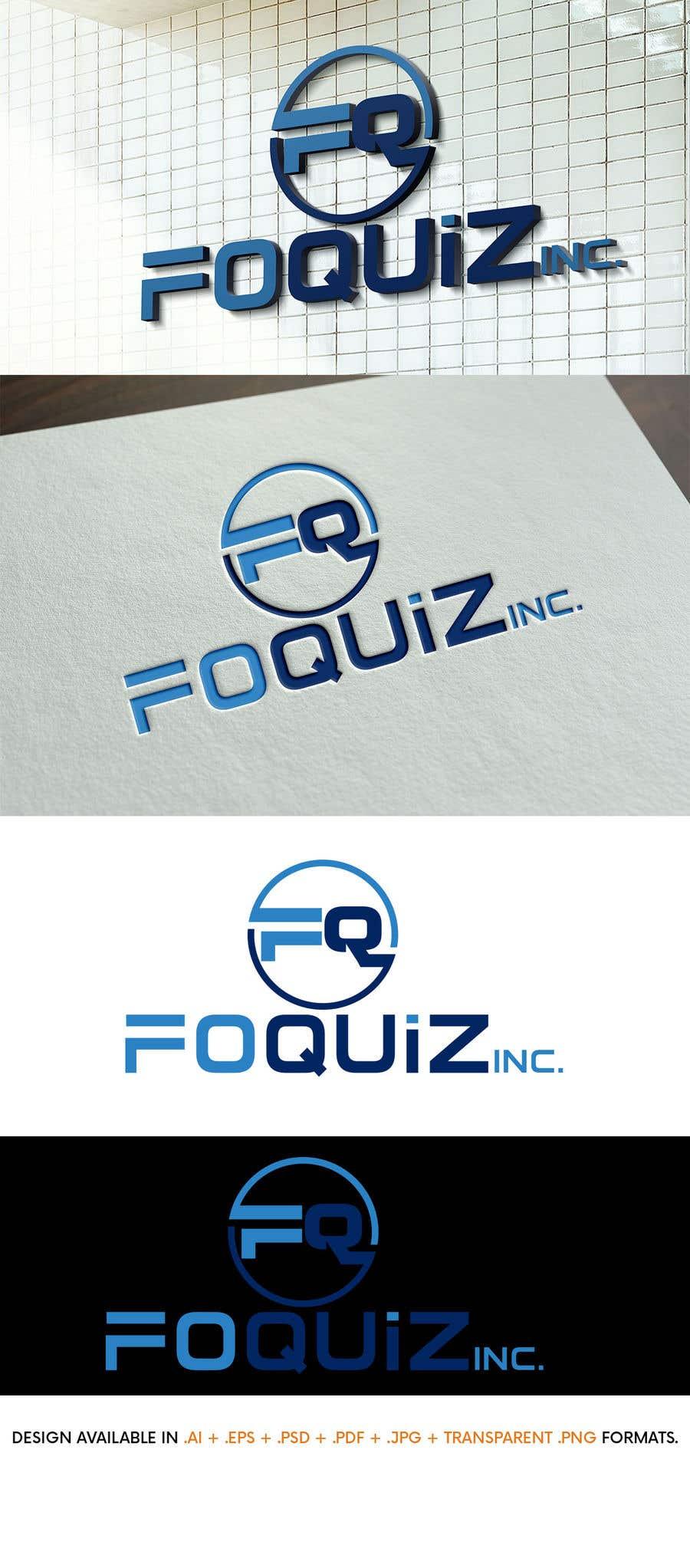 Entry 5 By Johndigitech For Design A Logo Foquiz Inc Freelancer