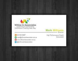 nº 16 pour Business Cards - Willow par papri802030