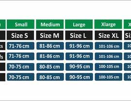 #15 para Make our size chart amazing por maani107