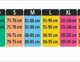 #29 para Make our size chart amazing por maani107