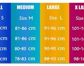 #34 para Make our size chart amazing por zoomultrabd