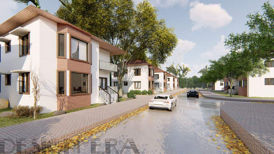 Proposta in Concorso #16 per Rendering and Visualisation of residential buildings and estates