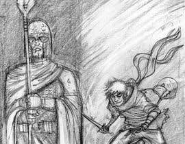 #22 for Sketch of a sneak attack by D3baser