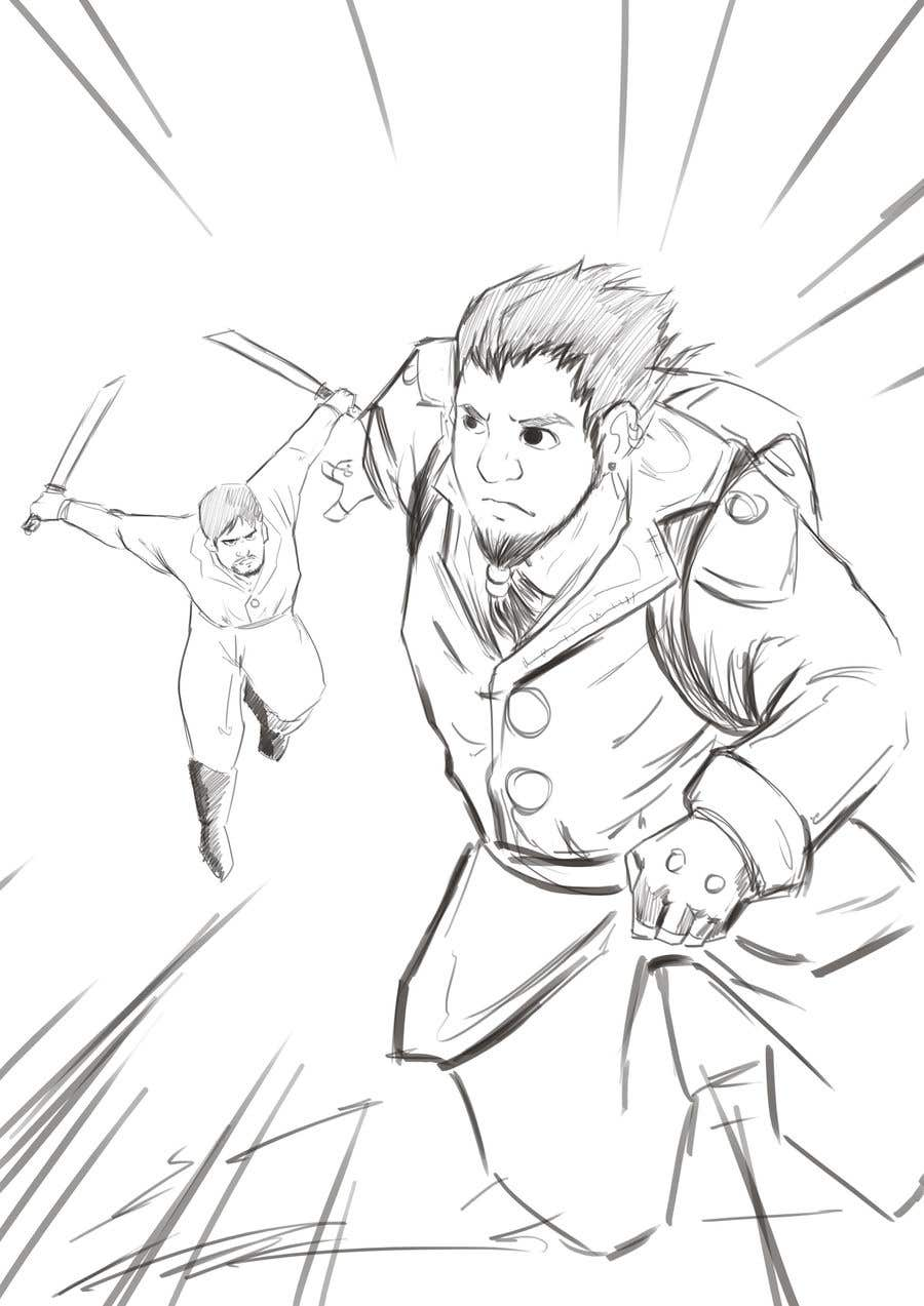 Contest Entry #10 for Sketch of a sneak attack