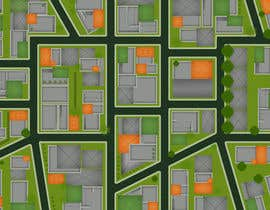 #10 for Top Down City Map View af suranib