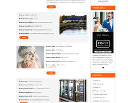 nº 14 pour PSD Redesign of Wedding Directory Site par rosepapri