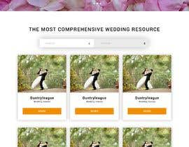 nº 6 pour PSD Redesign of Wedding Directory Site par keevnx