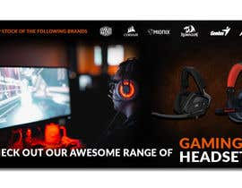 #4 untuk Design A Website Banner To Promote Gaming Headset Sales oleh igors085