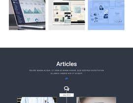 Nro 9 kilpailuun Wordpress Website layout and design needed (no content needed). This should be a simple project käyttäjältä ranahosen17000