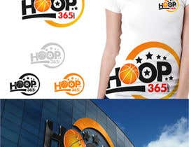 #200 para Logo Design for Hoop365.com por ideaz13
