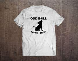 "#50 para Tshirt Design for a Group of Owners of Dog Daycares ""The ODD ball! por frelet2010"