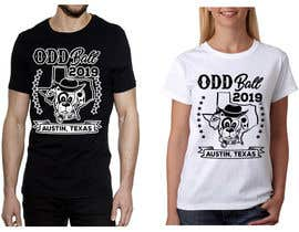 "#98 para Tshirt Design for a Group of Owners of Dog Daycares ""The ODD ball! por feramahateasril"