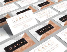 nº 31 pour I need some graphic design. For business card and price tag , my company name is GALA , color: rose gold & off white. par angelacini