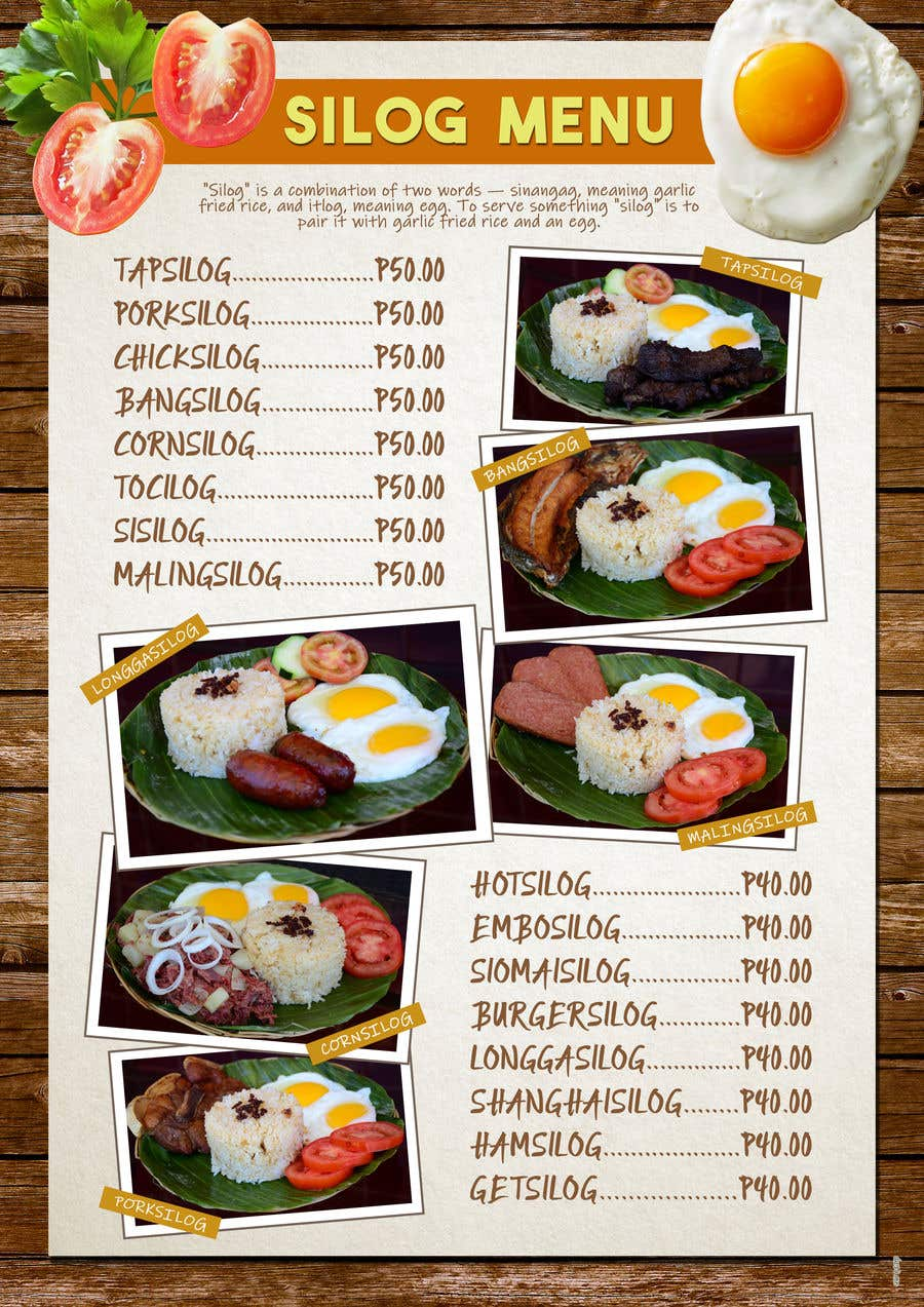entry 15 by juchin26 for design an internet cafe restaurant menu