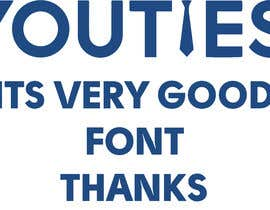 #4 for Find this font in logo af Nooreldeen14