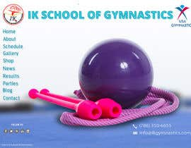 #35 para Website Design for ik gymnastics LLC por datagrabbers