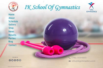 #44 for Website Design for ik gymnastics LLC by datagrabbers