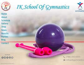 #45 para Website Design for ik gymnastics LLC por datagrabbers