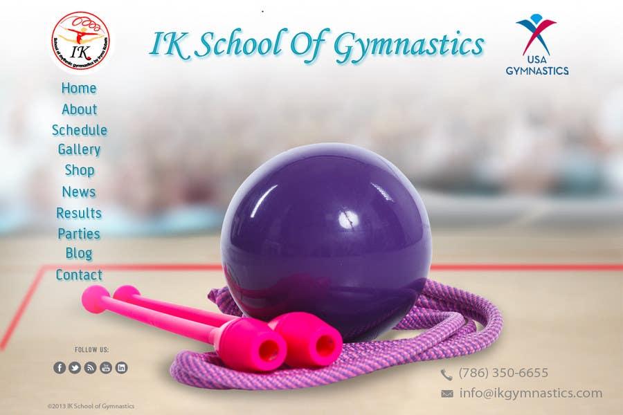 #63 for Website Design for ik gymnastics LLC by datagrabbers